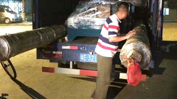 台勤液压50台11KW液压站专车发往湖南客户