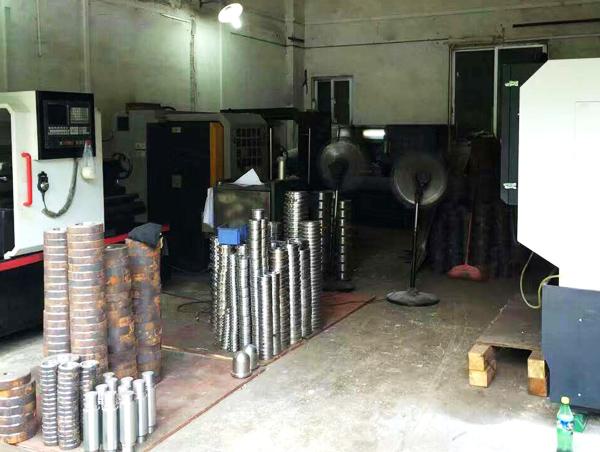 佛山台勤液压工厂设备数控车床实拍照