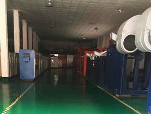 佛山市台勤液压科技有限公司液压厂家工厂厂房一角