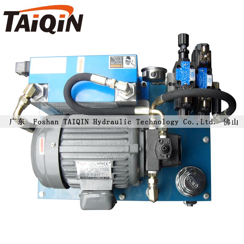 数控双工位液压系统