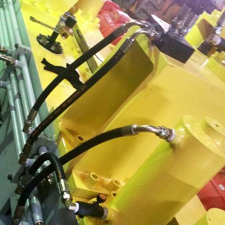石材机械压机油缸