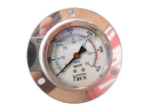 液压耐震带油∅60压力表