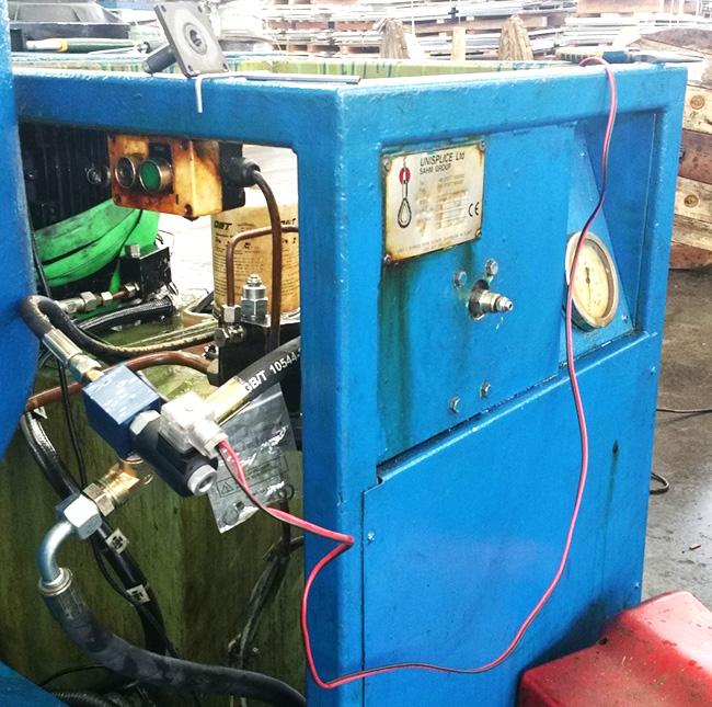 佛山台勤液压的维修案例