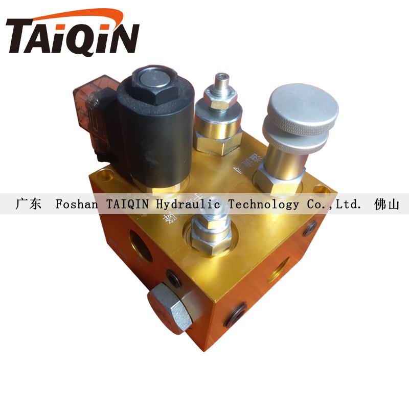 特大阀TQ台勤电磁阀组ET一06集成块升降机液压泵站原厂配件TAIQIN